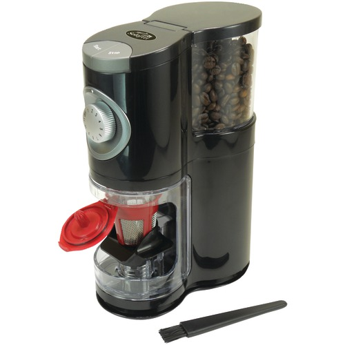 Solofill 2-In-1 Automatic Single-Serve Burr Grinder